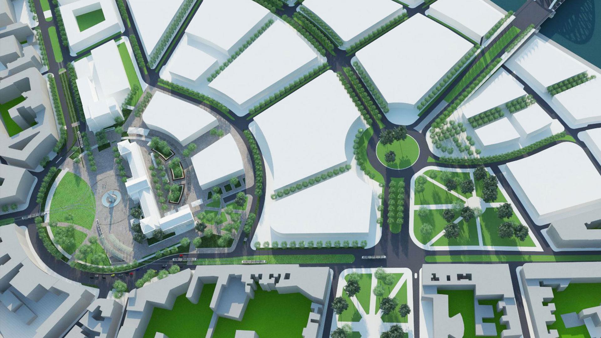 Savski trg Beograd, landscape, urbanism, urbanizam, natječaj, konkurs, krajobrazna arhitektura, Željko Radišić