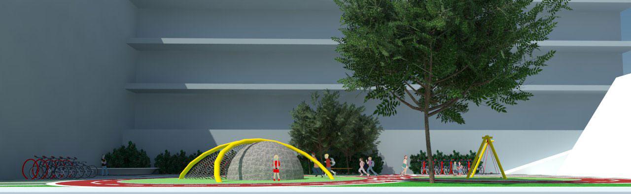 djecje igralište, rabac, girandella, krajobrazna arhitektura, Željko Radišić