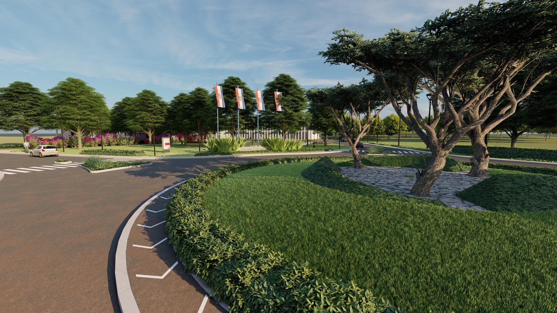 Krajobrazni projekt uređenja parka na ulazu u Funtanu, Krajobazni arhitekt Željko Radišić iz OpOp studio
